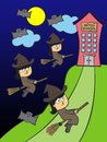 Free School Of Witches Stock Photography - 27097092
