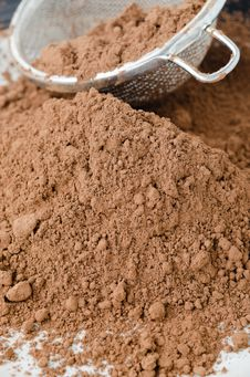 Free Cocoa Powder Stock Photos - 27091463