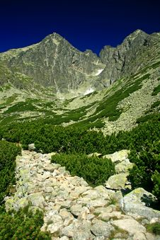 Free Lomnicky Stit, High Tatras Stock Photo - 27093090
