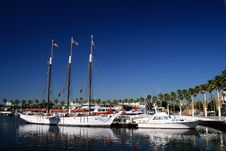 Free Long Beach Rainbow Harbor Stock Photography - 27094722