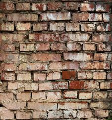 Free Grunge Brick Wall Background Or Texture Stock Photo - 27094990