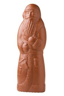 Free Chocolate Santa Claus Royalty Free Stock Image - 27095796