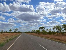 Free Australian Outback. Stock Photo - 27096510