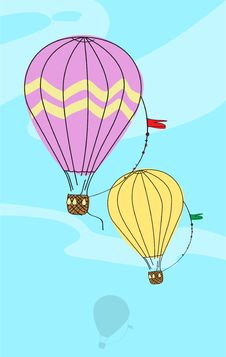 Free Hot Air Balloons Stock Photos - 27096623