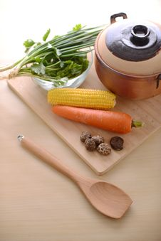 Free Healthy Living With Vegetables Stock Images - 27098064