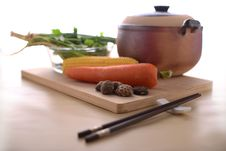 Free Healthy Living With Chinese Traditional Cooking Stock Image - 27098071