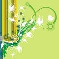 Free Floral Grunge Background Stock Image - 2711381