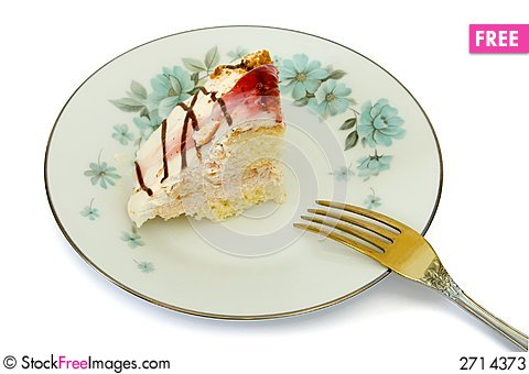 Cake on plate and fork  sc 1 st  Stock Free Images & Cake On Plate And Fork - Free Stock Images \u0026 Photos - 2714373 ...