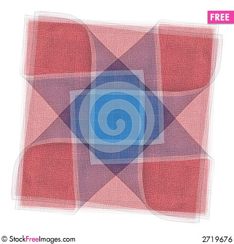 Free Quilt Fabric Square Pattern Royalty Free Stock Image - 2719676