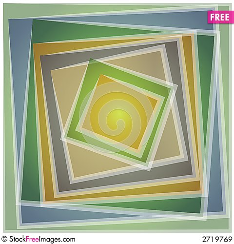 Free Abstract Square Tile Pattern 3 Royalty Free Stock Images - 2719769
