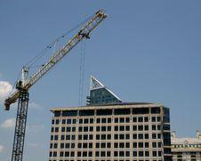 Free Crane And Concrete Stock Image - 2710161