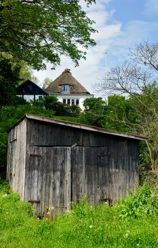 Free Old Cabin - Denmark In Summer Royalty Free Stock Image - 2710296