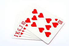 Free Money Playing Cards Stock Photography - 2710622