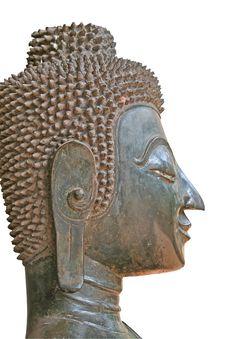 Free Buddhist Statue Head Stock Image - 2711431