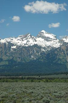 Free Wyoming Mountains Stock Photos - 2711493
