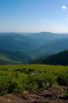 Free Carpathian Mountains Royalty Free Stock Photography - 2712047