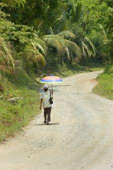 Free Rainbow Umbrella Stock Photography - 2712322