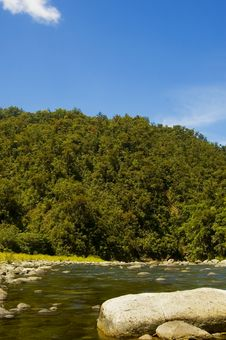 Free River And Mountains Royalty Free Stock Photos - 2712488