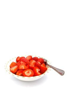 Free Strawberries In A Bowl 02 Royalty Free Stock Images - 2712689