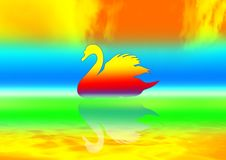 Free One Swan Royalty Free Stock Photography - 2712907