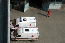 Free Ambulance Cars Stock Photo - 2713100