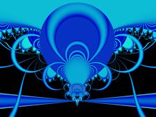 Abstract: Blue Power Stock Photos