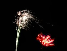 Free New Year Fireworks Stock Photography - 2713592