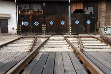 Free Train Storage Sidings Royalty Free Stock Image - 2713836