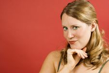 Free Thoughtful Woman Royalty Free Stock Photos - 2713858