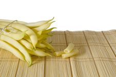 Free String Yellow Haricot Pods Stock Image - 2715521