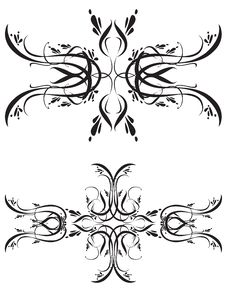 Free Fancy Detailed Decorations Orn Royalty Free Stock Photos - 2717898