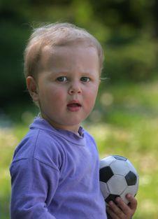 Free Football Child Stock Photo - 2718070