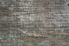 Obsolete Brick Wall Stock Images