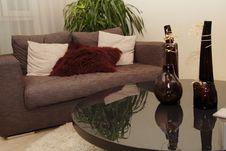 Free Sofa And Tea Table Royalty Free Stock Image - 2718976