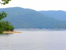 Free Banks Of Lake Jocassee Stock Photo - 2719440