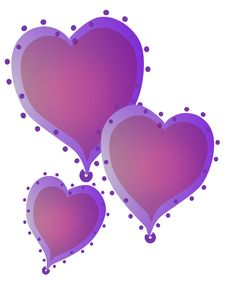 Free Isolated Hearts Clip Art 1 Stock Photography - 2719642