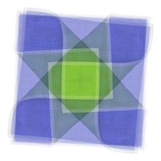 Quilt Fabric Square Pattern 2 Royalty Free Stock Photography