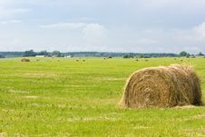 Free Hay Bales Royalty Free Stock Photos - 2719998