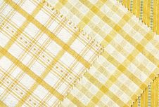 Free Yellow Textile Samples.. Stock Images - 27103904