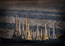 Eiffel Tower Souvenir Royalty Free Stock Image