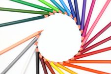 Free Colour Pencils Stock Image - 27104131
