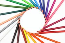 Free Colour Pencils Royalty Free Stock Images - 27104149