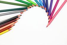 Free Colour Pencils Stock Photo - 27104170