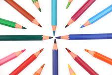 Free Colour Pencils Stock Photo - 27104200