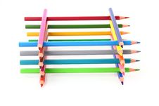 Free Colour Pencils Stock Image - 27104211
