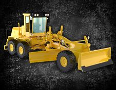 Free Bulldozer Royalty Free Stock Photography - 27107257