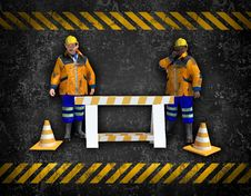 Free Workers Background Royalty Free Stock Images - 27107459