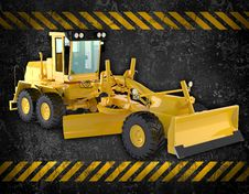 Free Bulldozer Stock Photography - 27107922