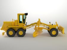 Free Bulldozer Royalty Free Stock Photography - 27108337