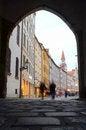 Free European Shopping Street Stock Photos - 27111273